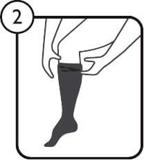 SMOOTHTOE instructions Step 2