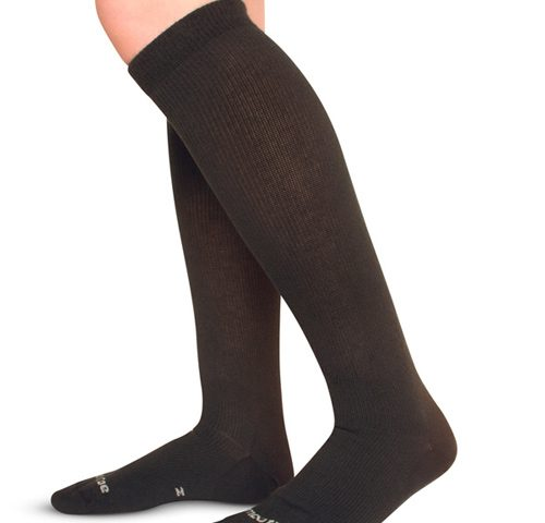 Picture of Black Knee High Compression Socks