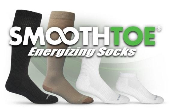 Smoothtoe Graduated Compression Socks